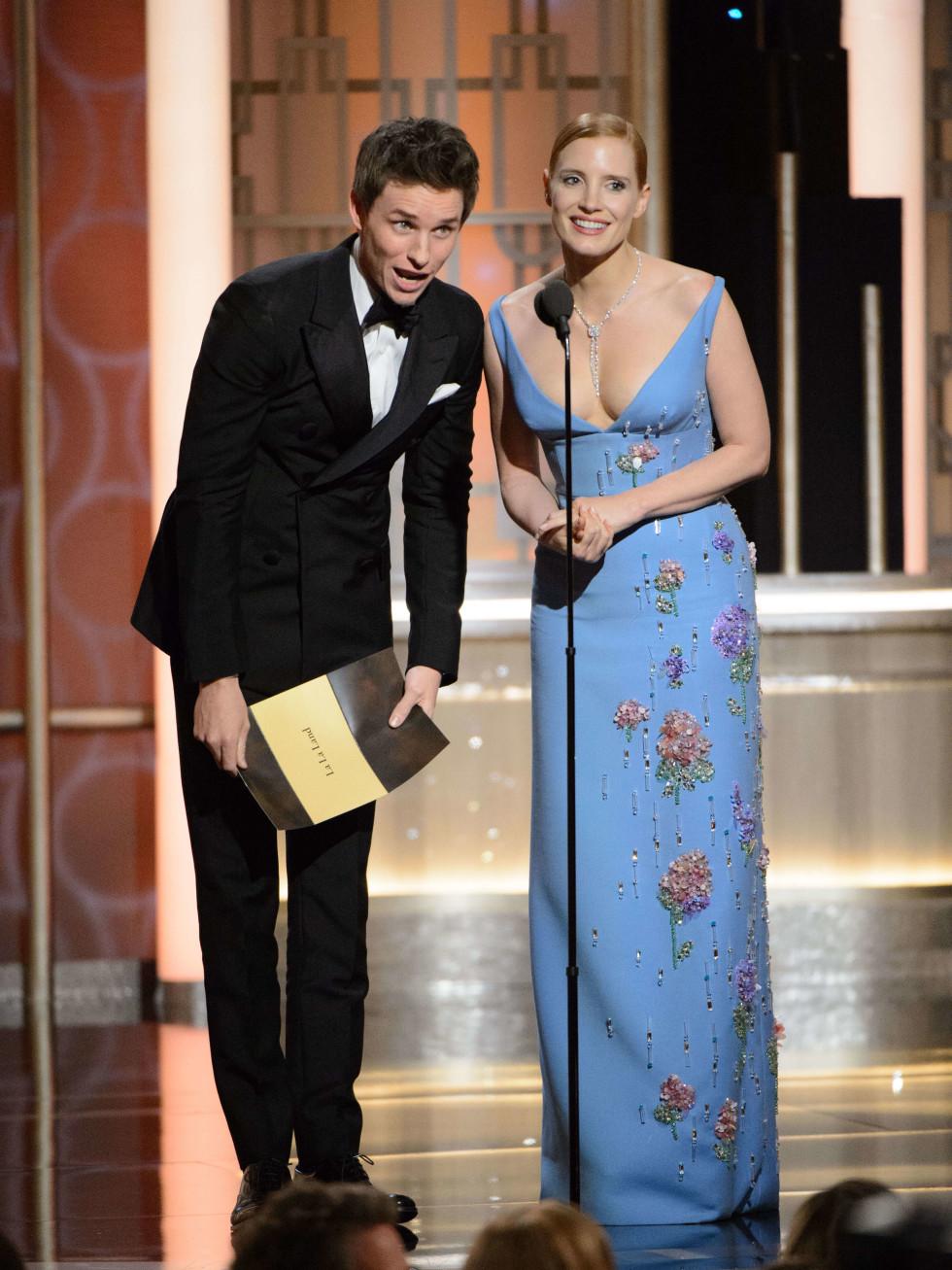 Jessica Chastain Golden Globes 2017