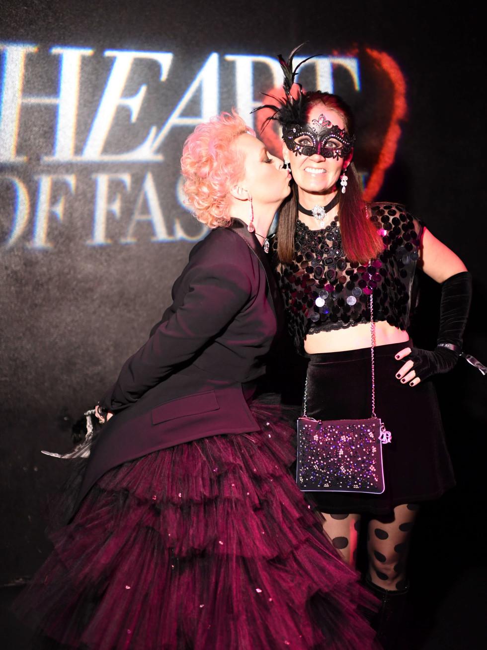 Heart of Fashion Masquerade Ball Vivian Wise, Beth Muecke