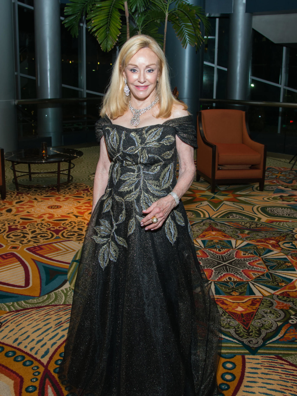 Houston, Women of Distinction fashionable gowns, Feb 2017, Judi McGee