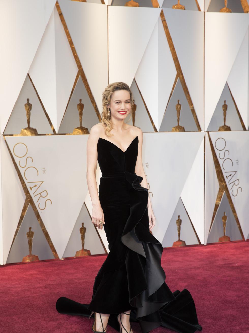 Brie Larson at Oscar 2017