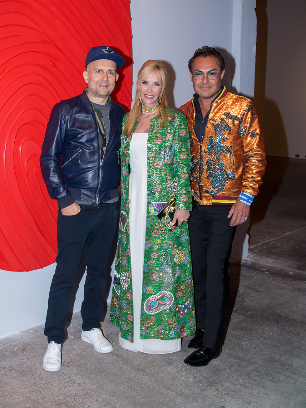 Mark Quinn, Nancy Rogers, Michael Flores