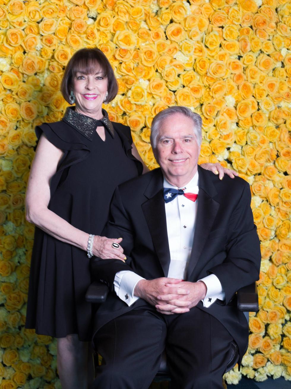 Dee Wynne Courage Award recipient: Walker Bateman IV and wife Jean Bateman