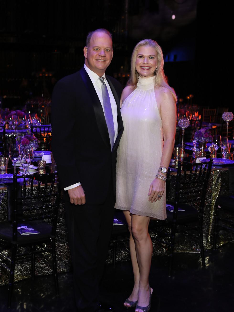 Rob Pierce, Amy Pierce at 2017 TUTS Dreamgirls Gala