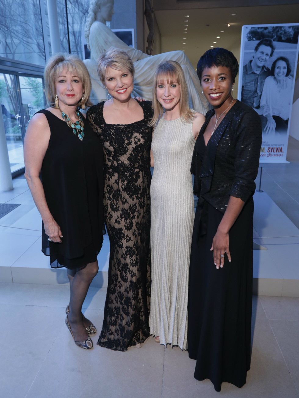 Susan Arledge, Lolette May, Mary Yost, Claudia Coleman