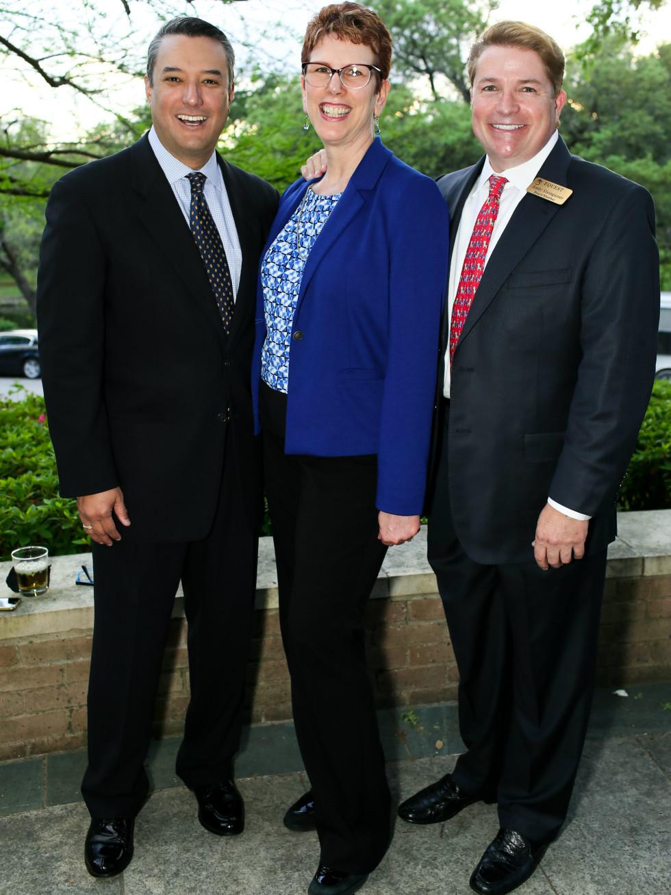 Paul Valdez, Michele Ritter, Andy Steingasser