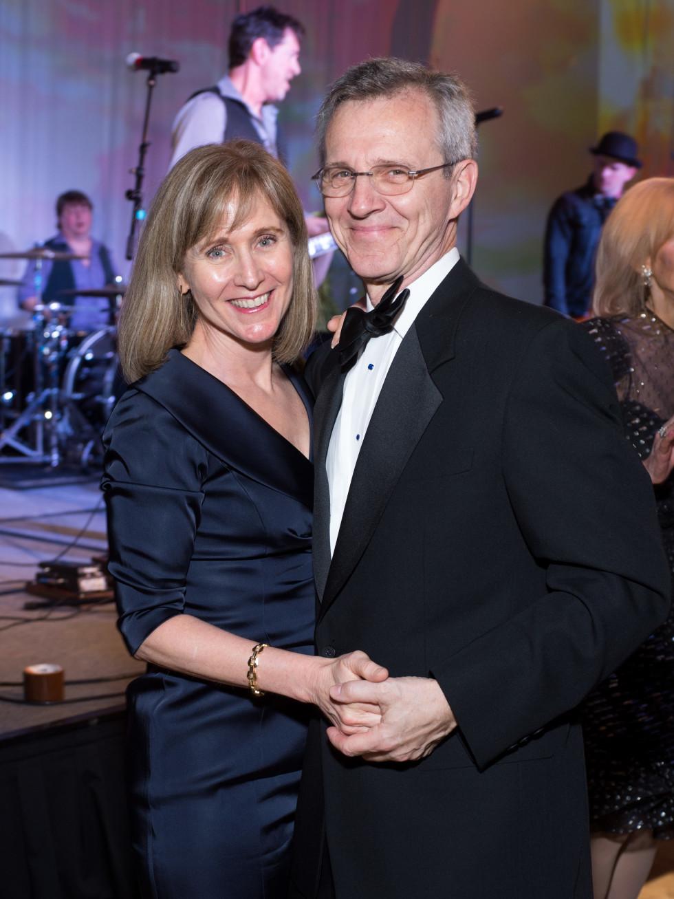Gigi and Dr. Al Hergenroeder at Covenant House Gala 2017
