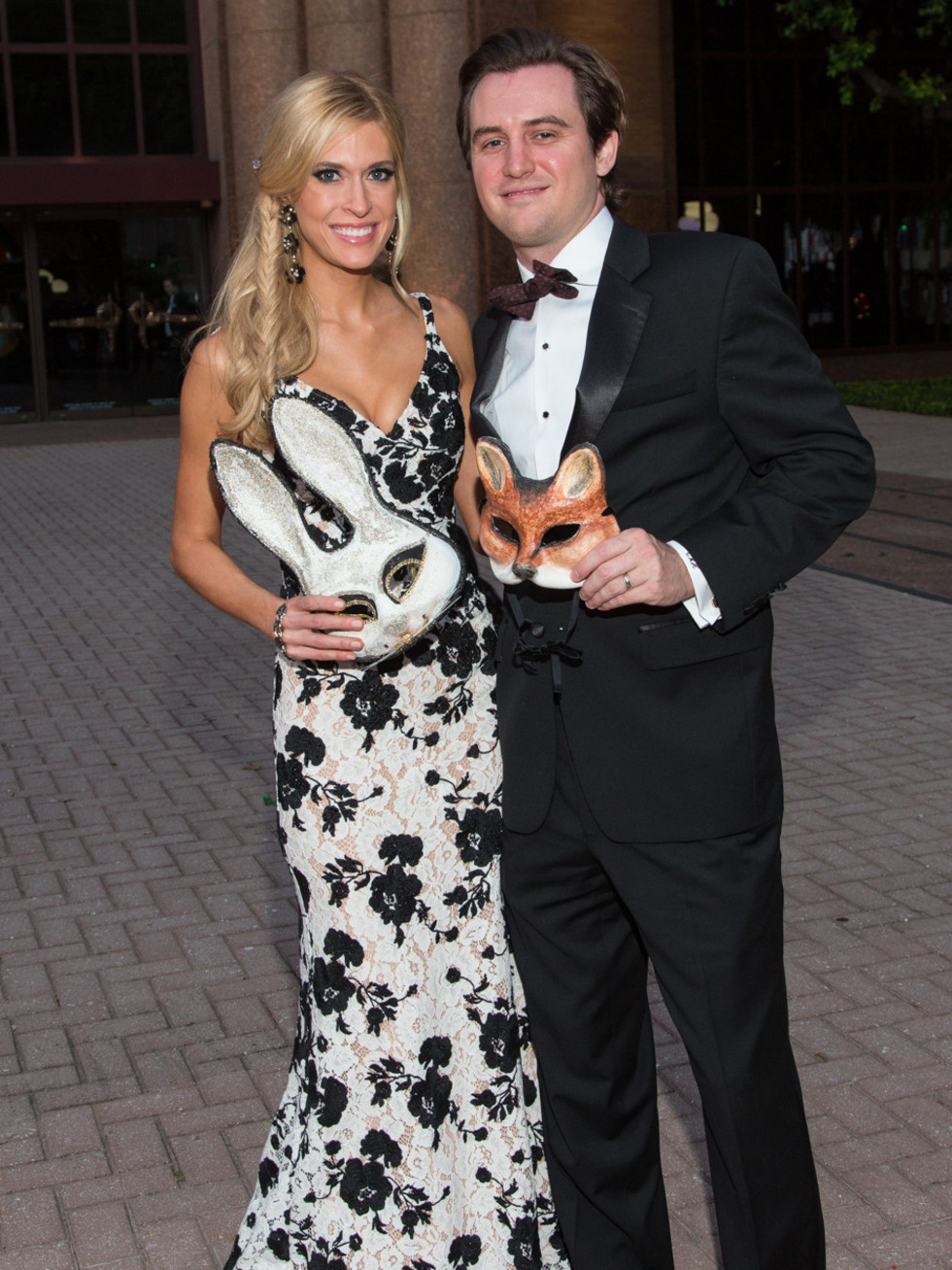 Houston, HGO opera ball, April 2017, Kendall and Christopher Hanno