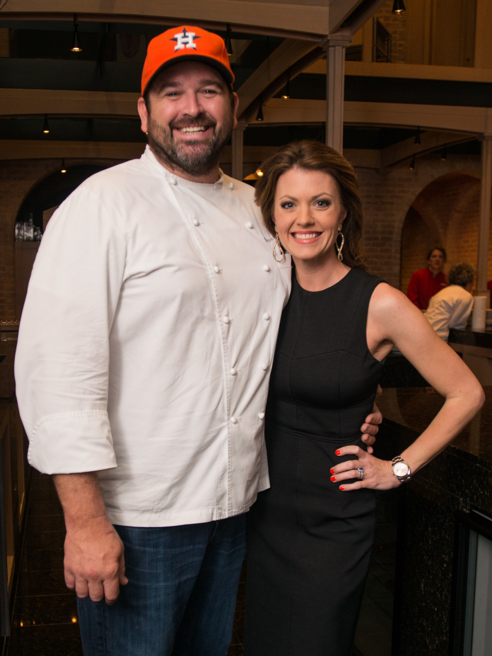 Bryan Caswell, Jennifer Caswell at Recipe for Success dinner