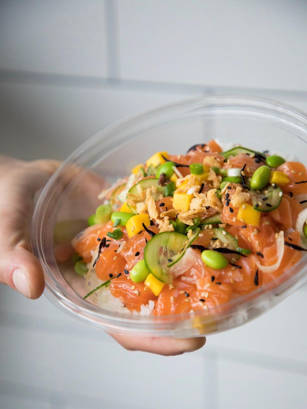 Pokeworks salmon bowl