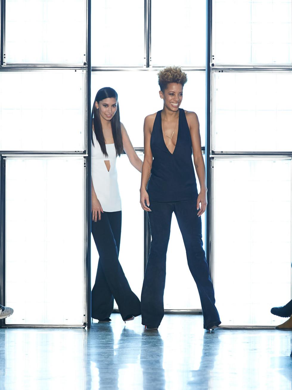 Clifford New York Fashion Week fall 2015 Cushnie et Ochs April 2015 Look36