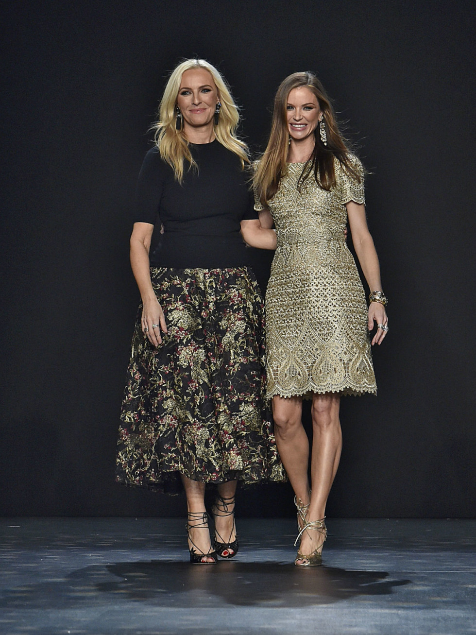 Marchesa designers Keren Craig and Georgina Chapman