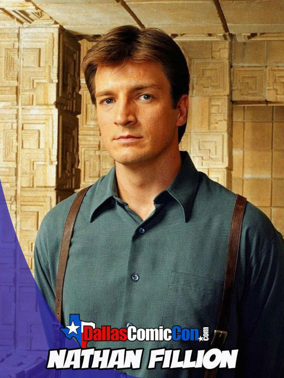 Dallas Comic Con welcomes Nathan Fillion