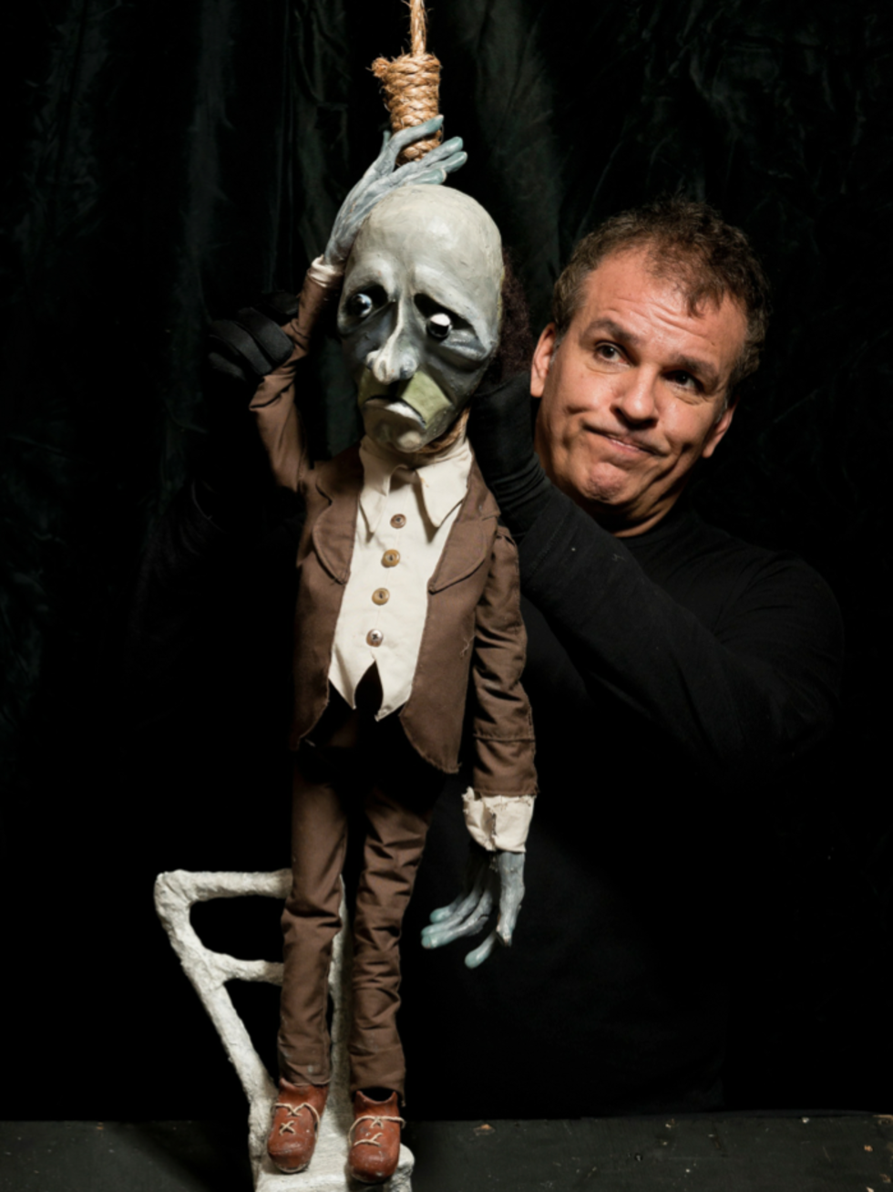 Bobbindoctrin Puppet Theatre and Two Star Symphony present Danse Macabre: The Constant Companion