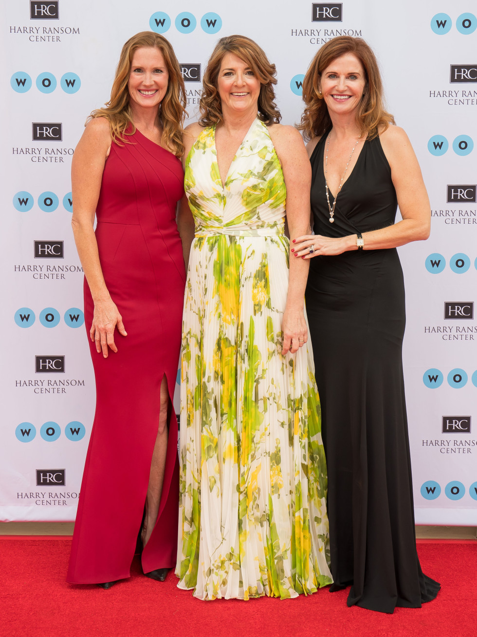 Ransom Center World of Wonders Gala 2017 Jennifer Kuczaj Margie Rine Kelly Cooper McClure