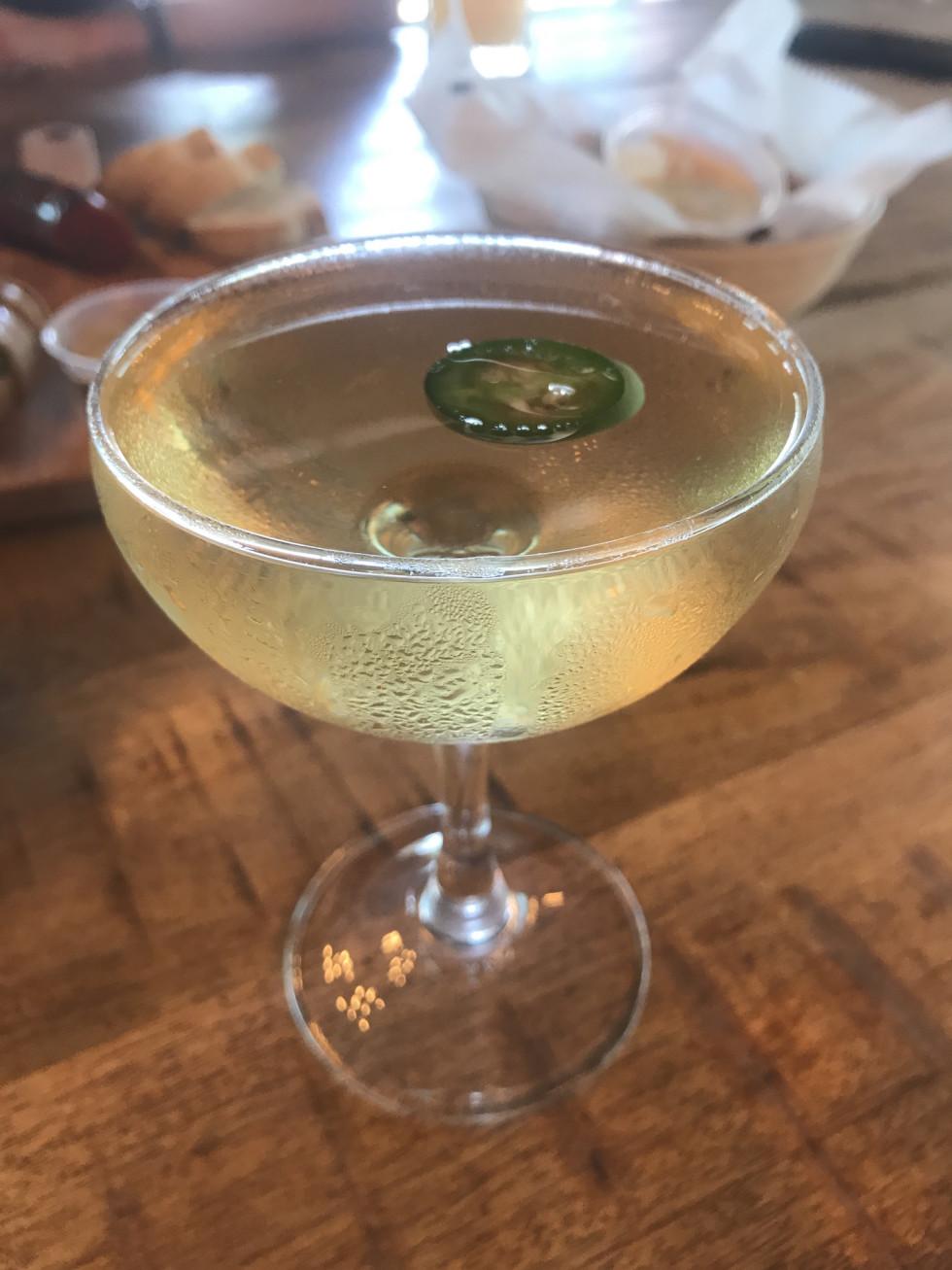King's Biergarten tequila cocktail