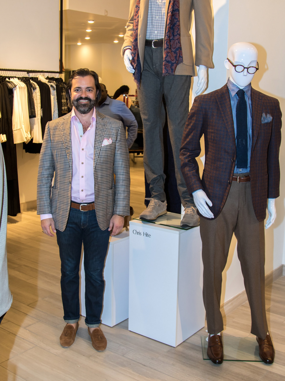 Chris Hite, Dallas Stylemaker 2016 Reveal Party