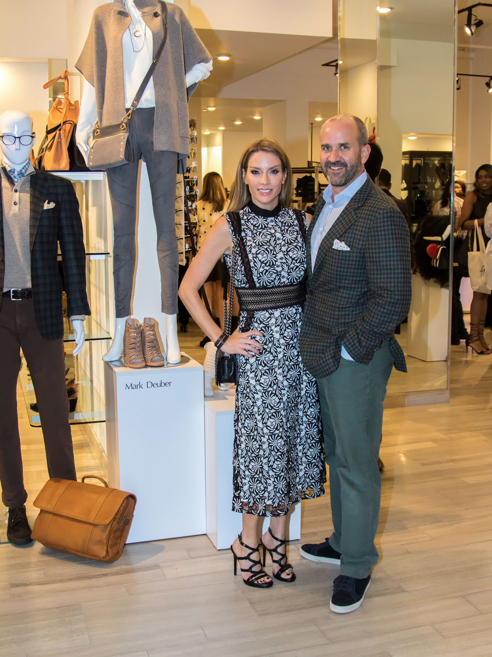 Mark Deuber, Cary Deuber, Dallas Stylemaker 2016 Reveal Party