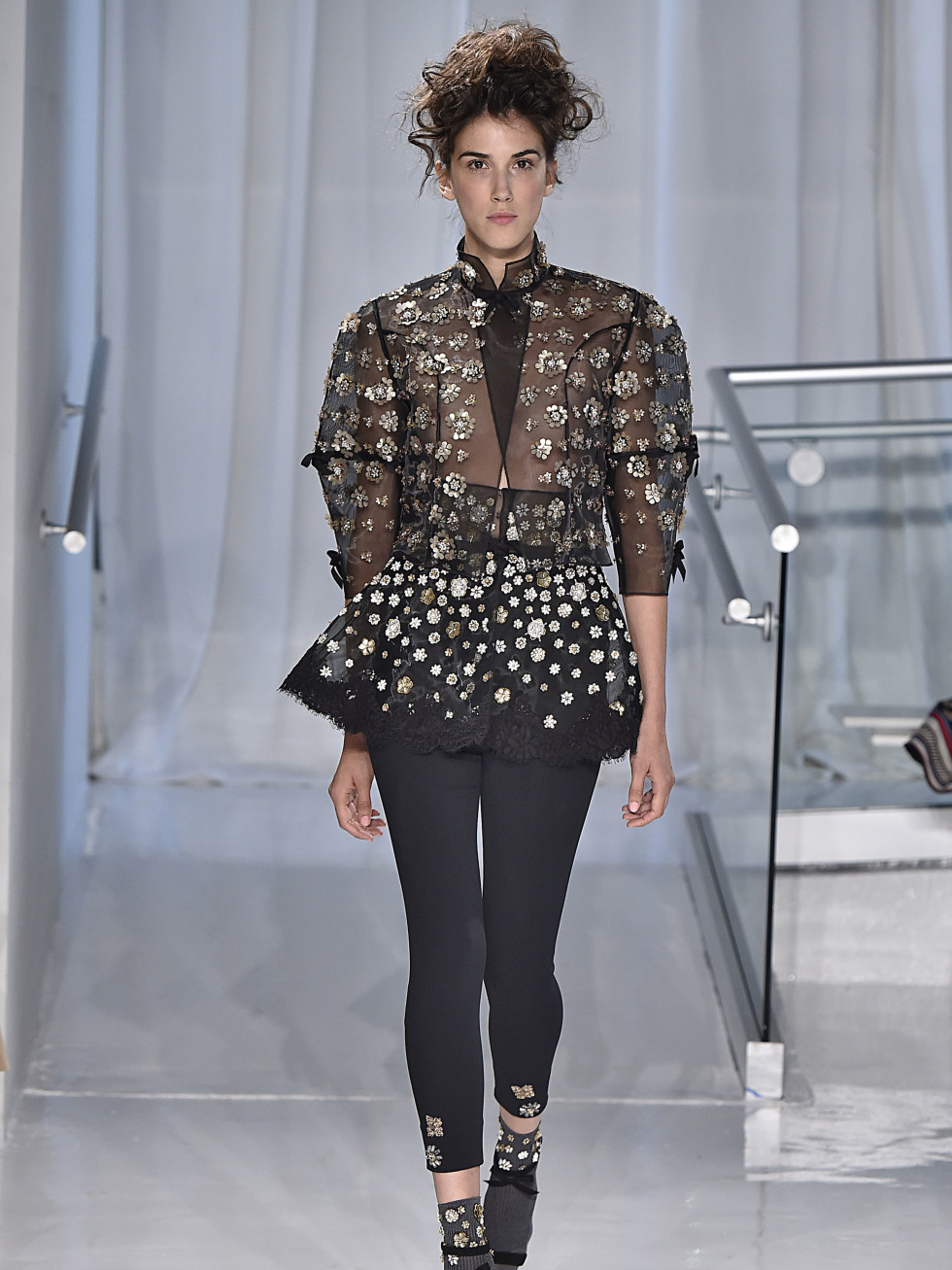Reem Acra spring 2017 collection pants