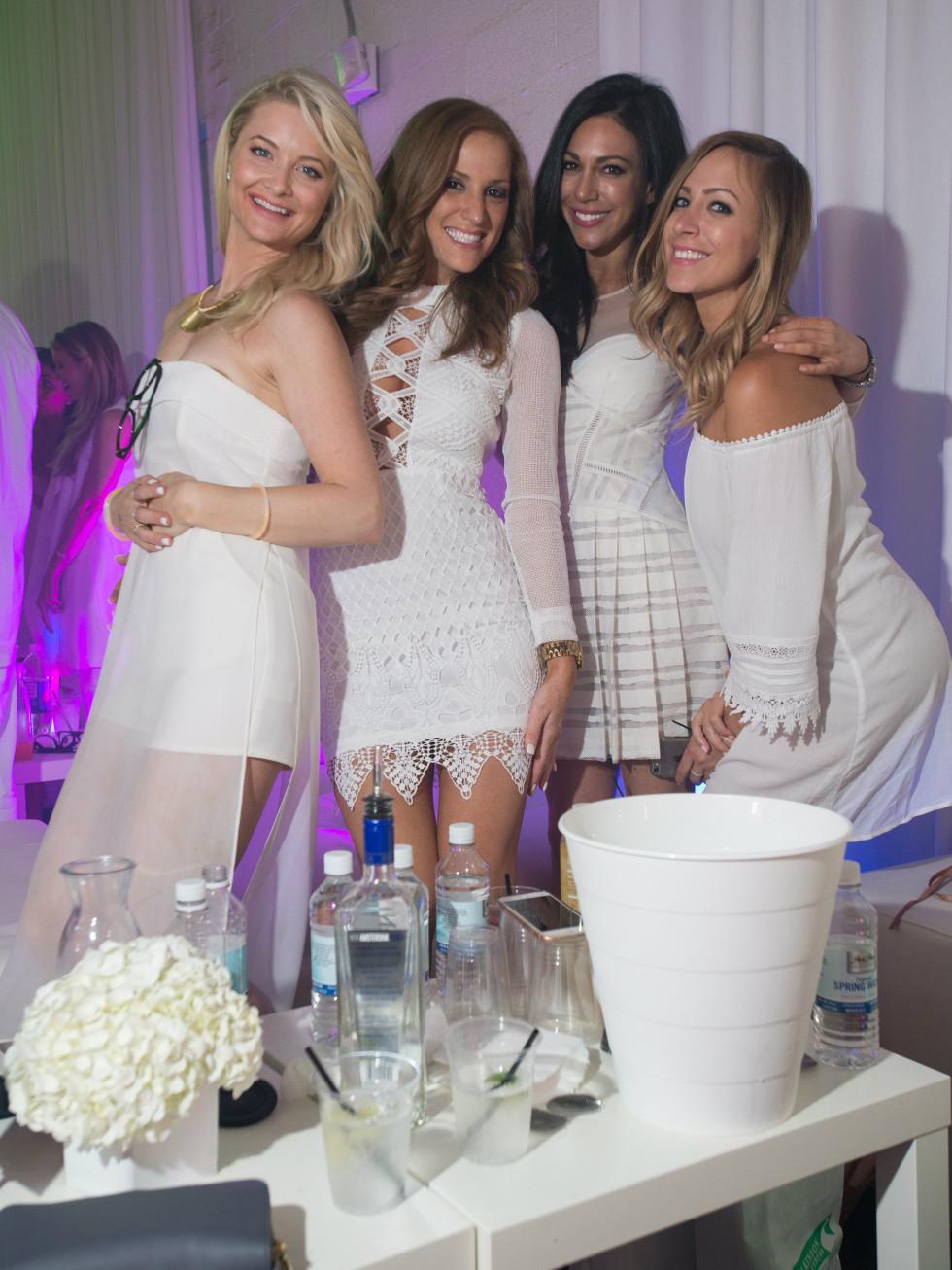 Jessica Tigert, Krystal Houle, Arielle Mandell, Julie Ellis