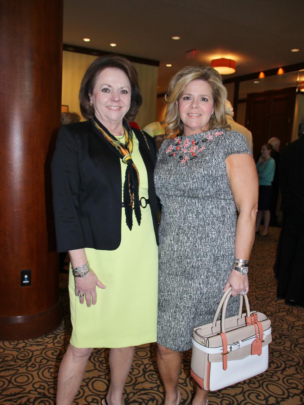 Brookwood luncheon, Sharon Henderson, Kelli Weinzieri