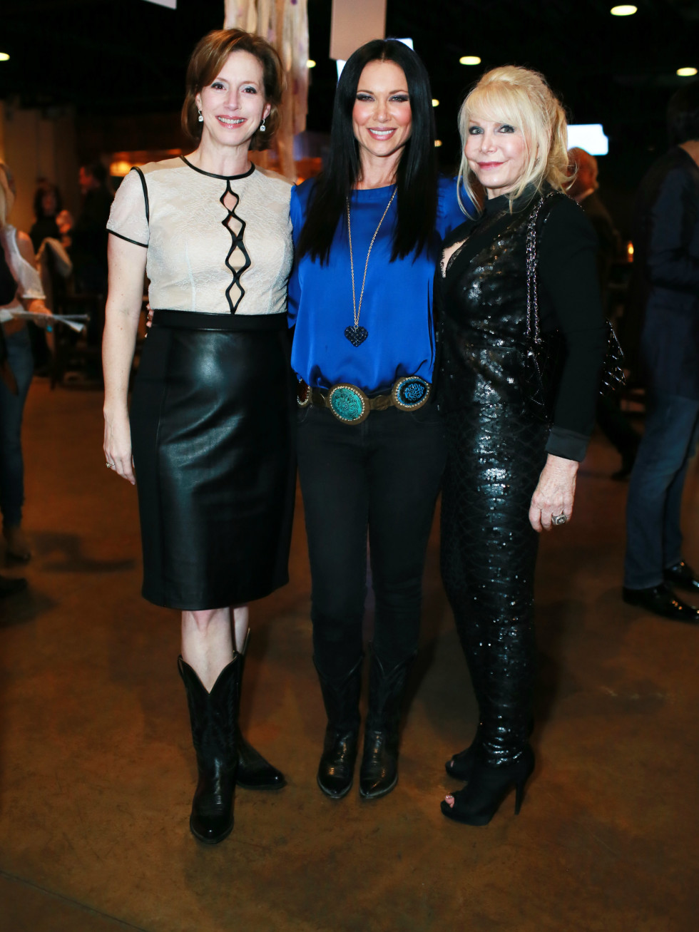 Laura Downing, LeeAnne Locken, Tricia Sims