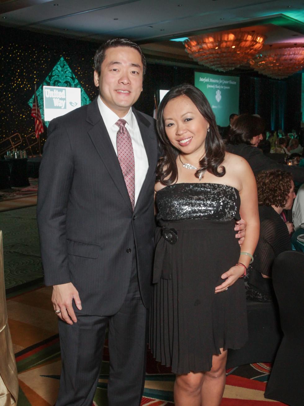 Tapestry gala, May 2016, Gene Wu, Miya Shay