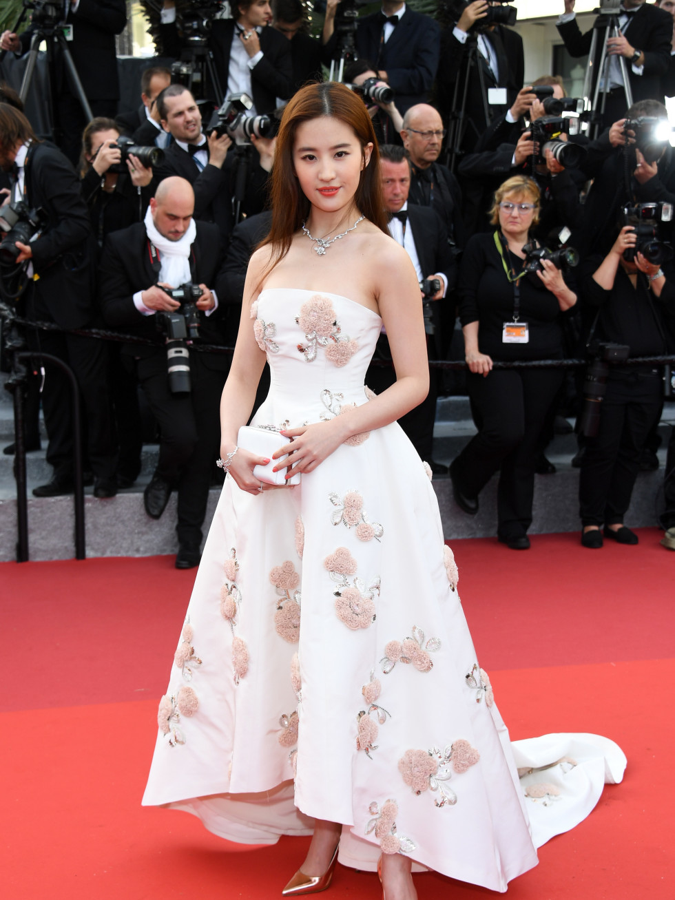 Liu Yifel in Dior at Cannes Film Festival