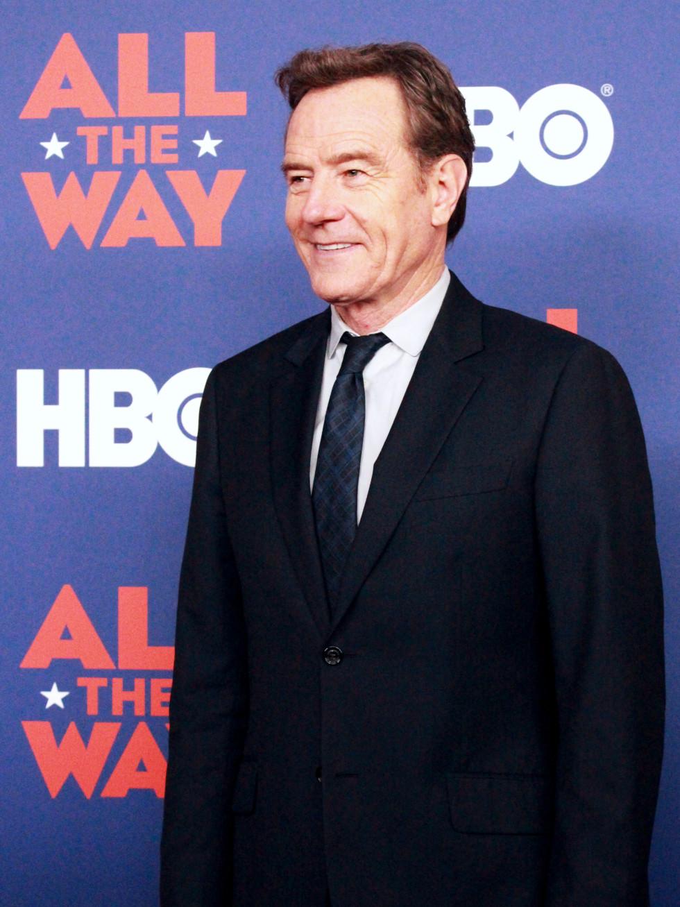 Austin premiere HBO film All the Way LBJ red carpet Bryan Cranston Lyndon B Johnson