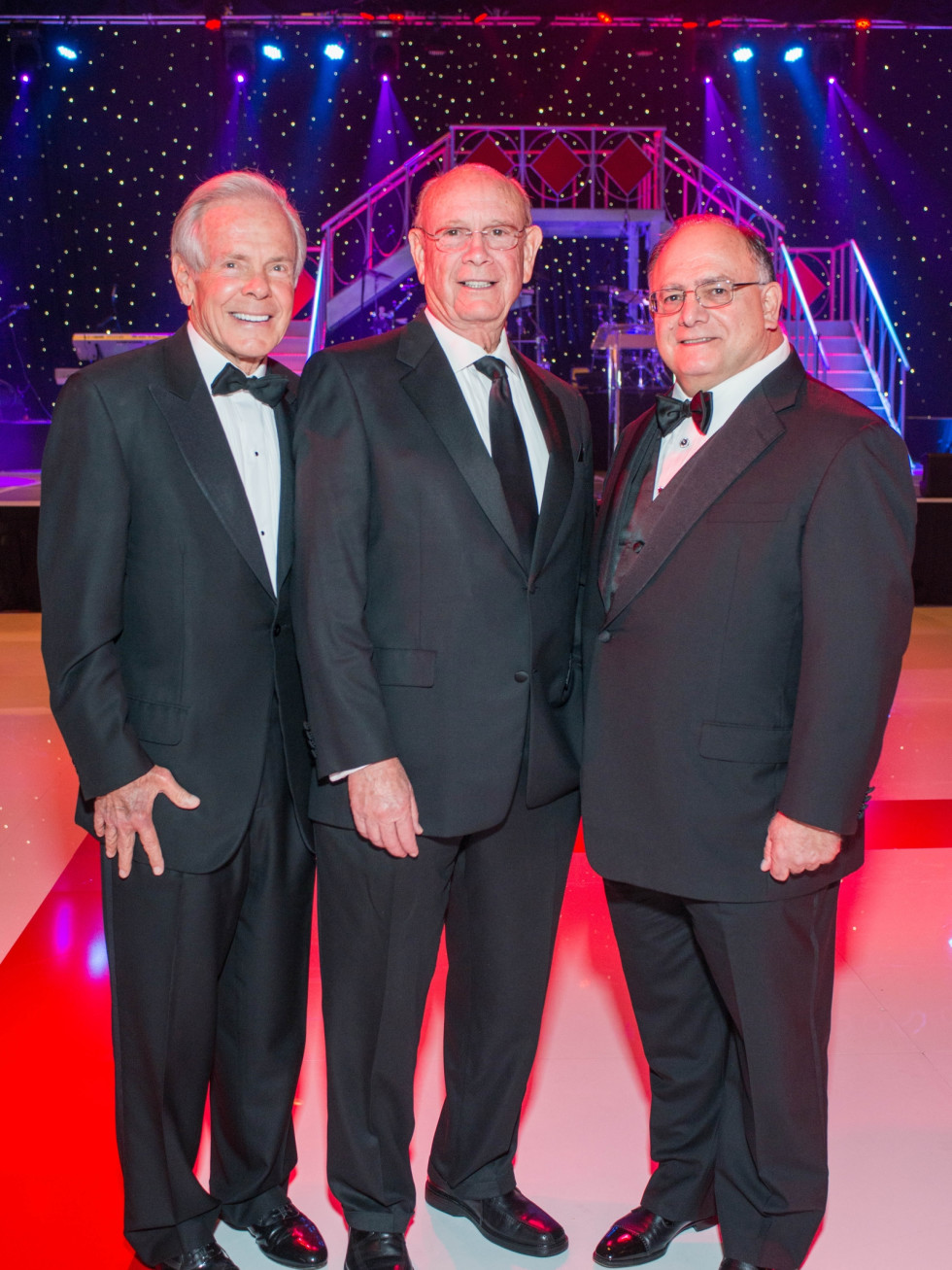 Memorial Hermann Gala 5/16 Jim Smith, Walter Johnson, Clarence Cazalot