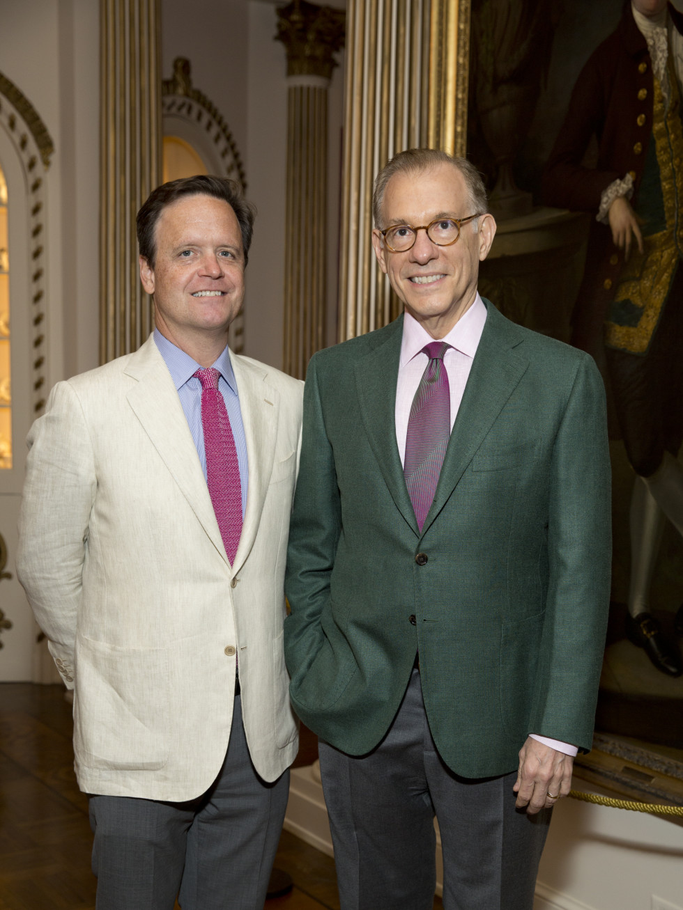 Rienzi Spring Party, 5/16 Christopher Gardener, Gary Tinterow