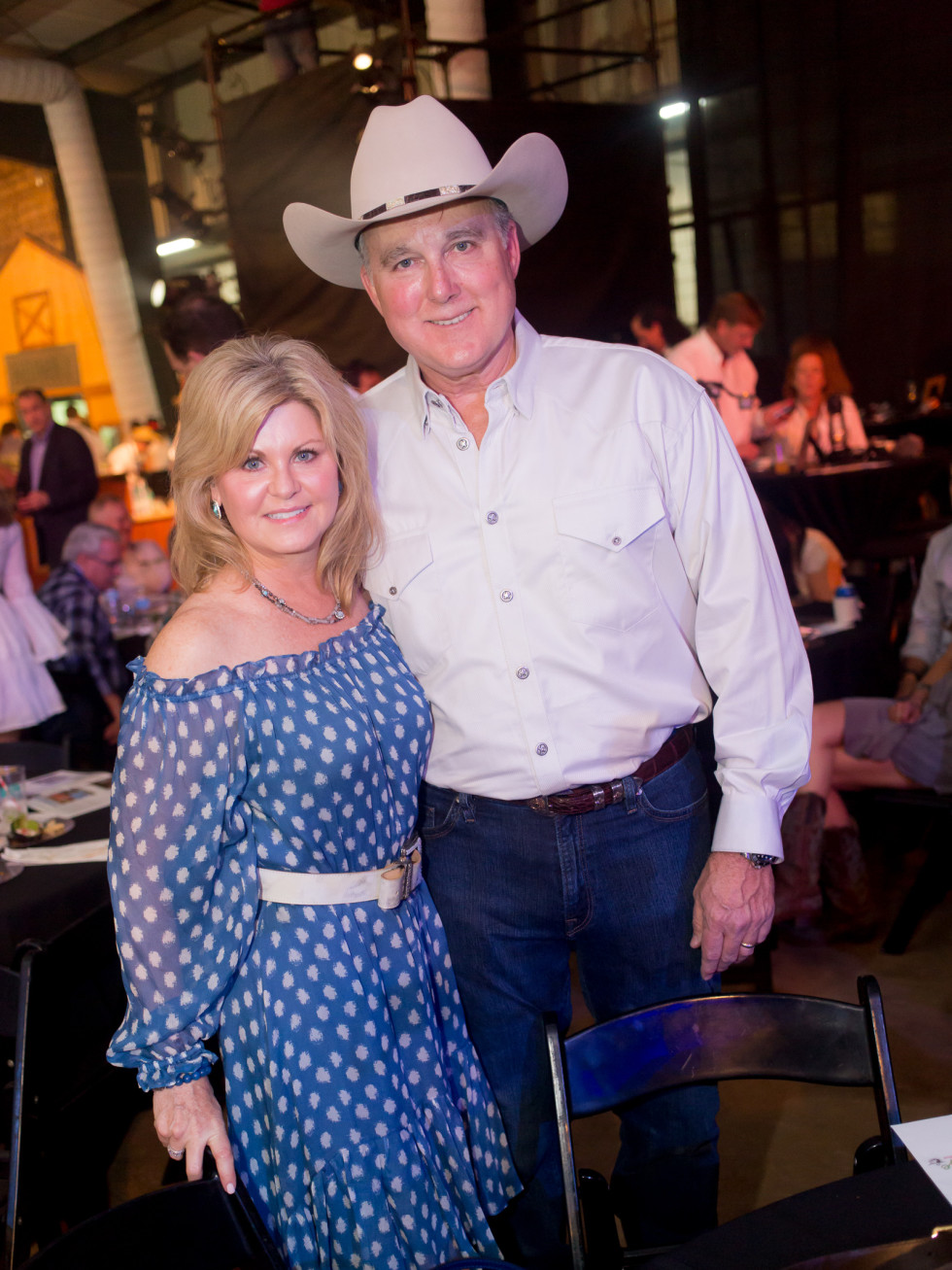 Cattle Baron's Ball, 4/2016 Jayne Harvey, Rick Harvey