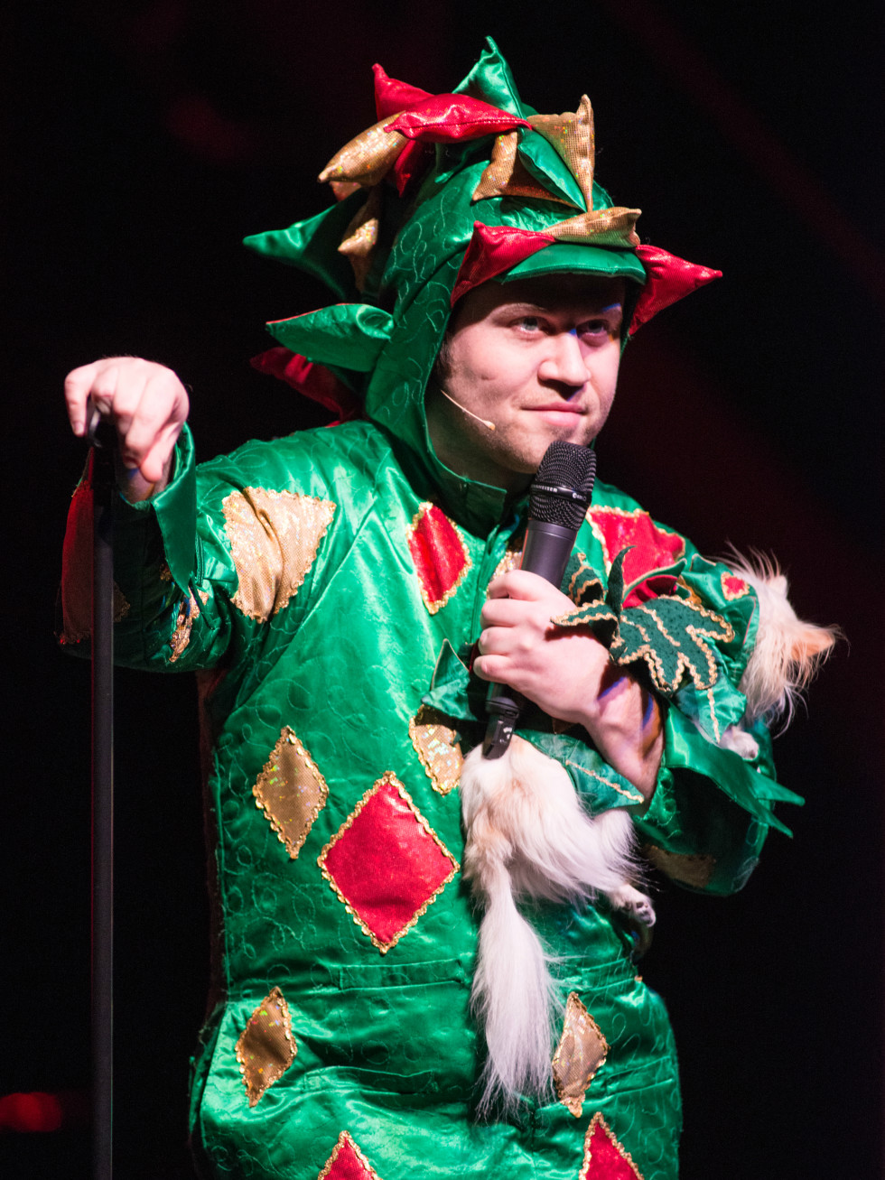 Moontower Comedy and Oddity Festival 2016 Piff the Magic Dragon John van der Put