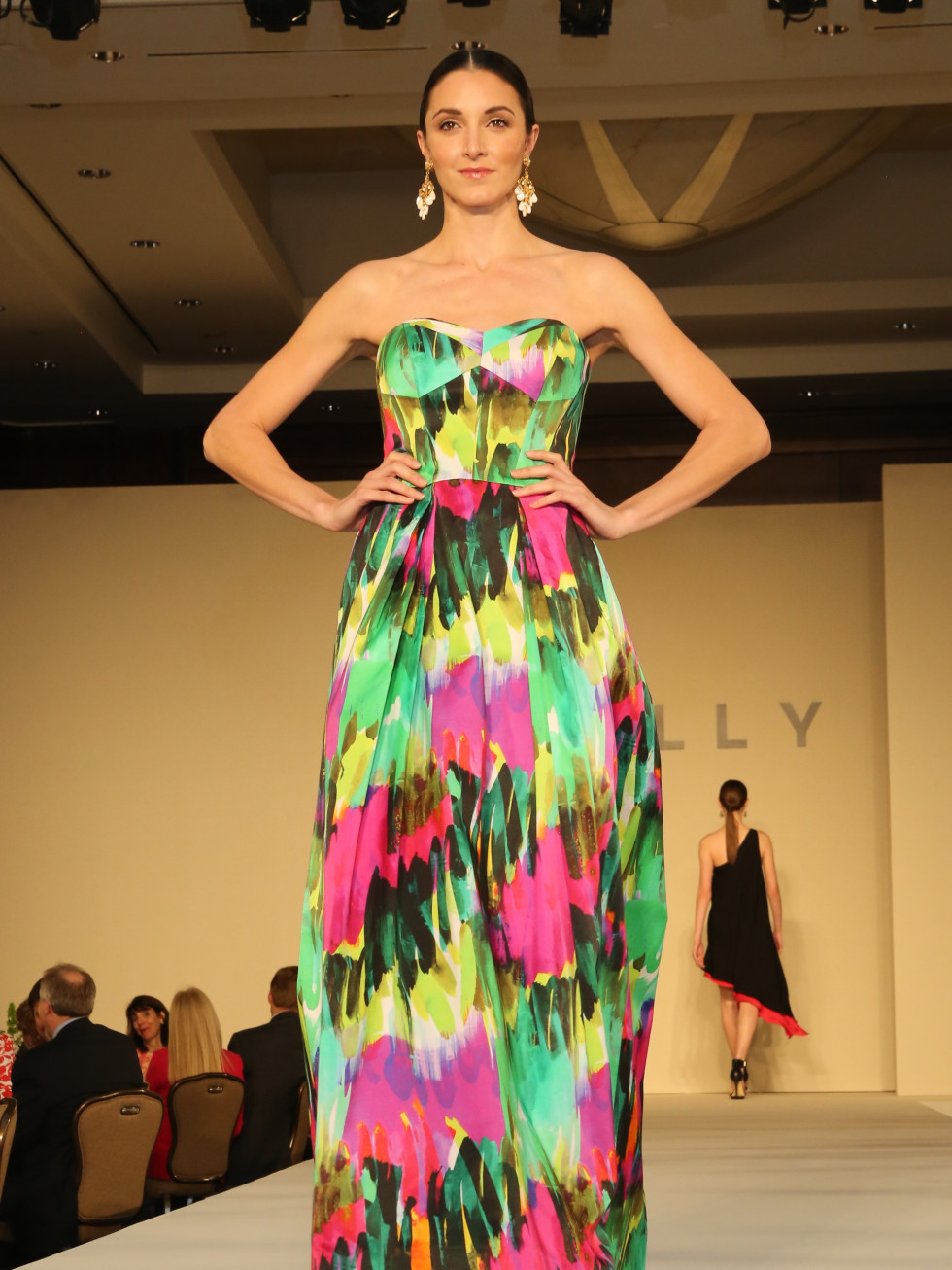 Children's Assessment Center, 4/16, gown by Milly