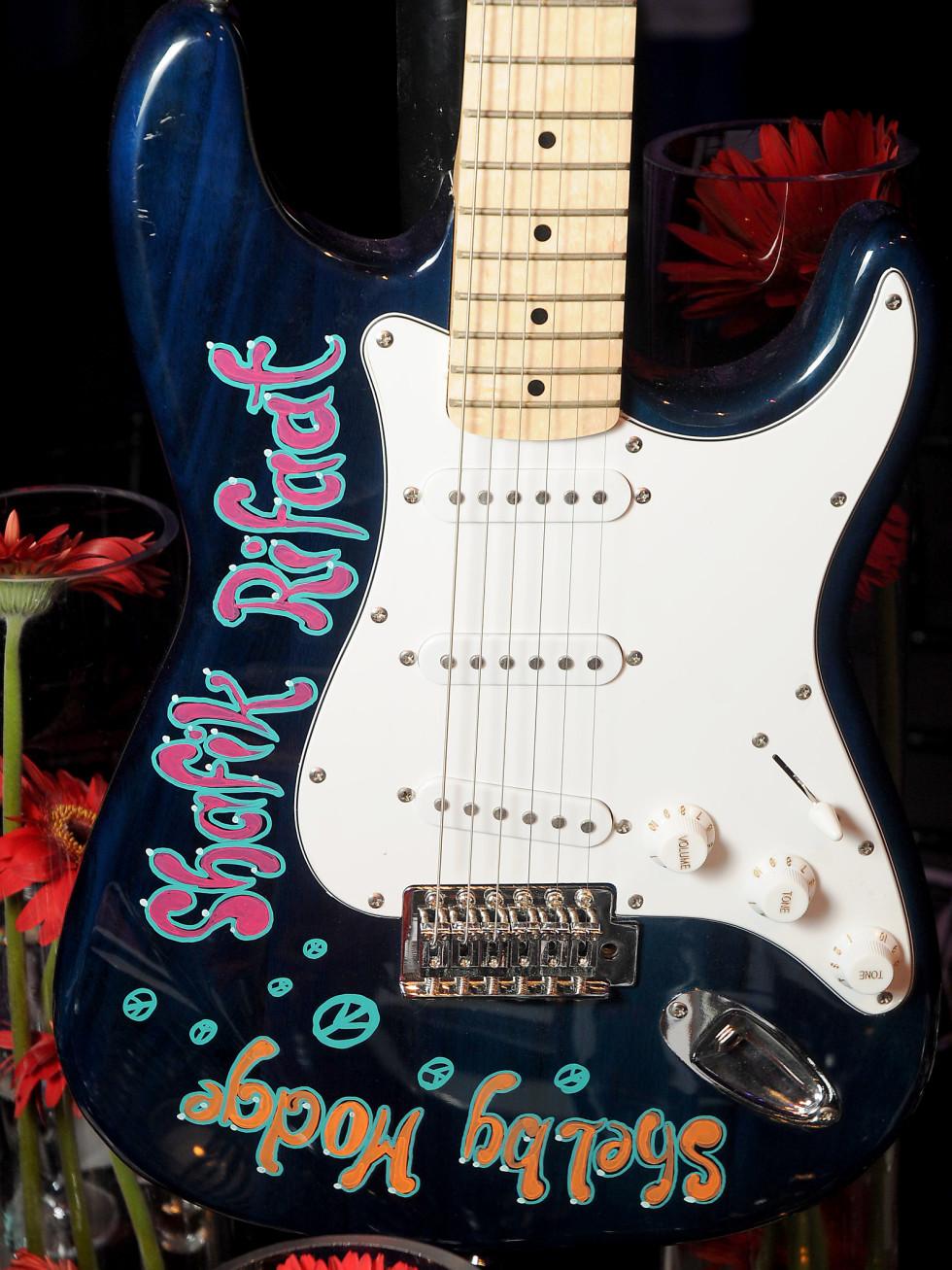 Alley Gala 4/2016, namesake guitars