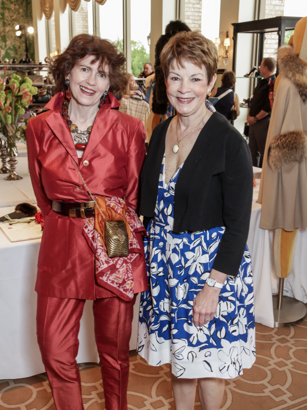 Salvation Army Reflections on Style, 4/16 Sally Dwyer, Debbie Leighton