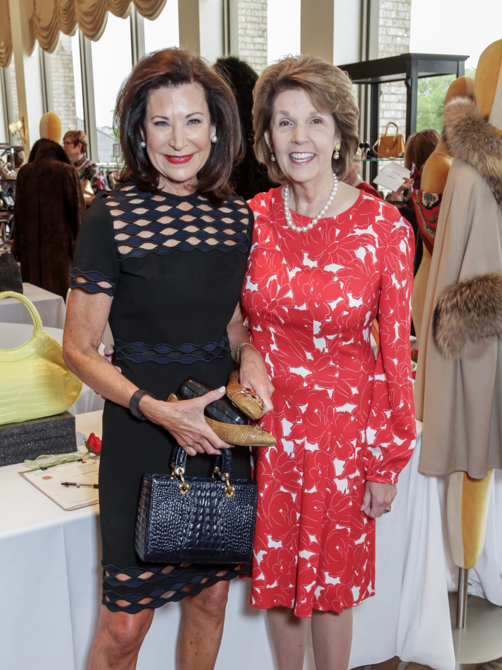 Salvation Army Reflections on Style, 4/16  Betty Hrncir, Lilly Andress