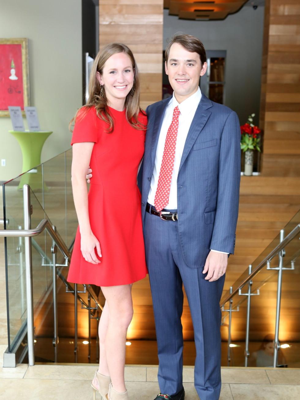 Houston Ballet Barre dinner, April 2016 Lilly Cullen, Harrison Cullen