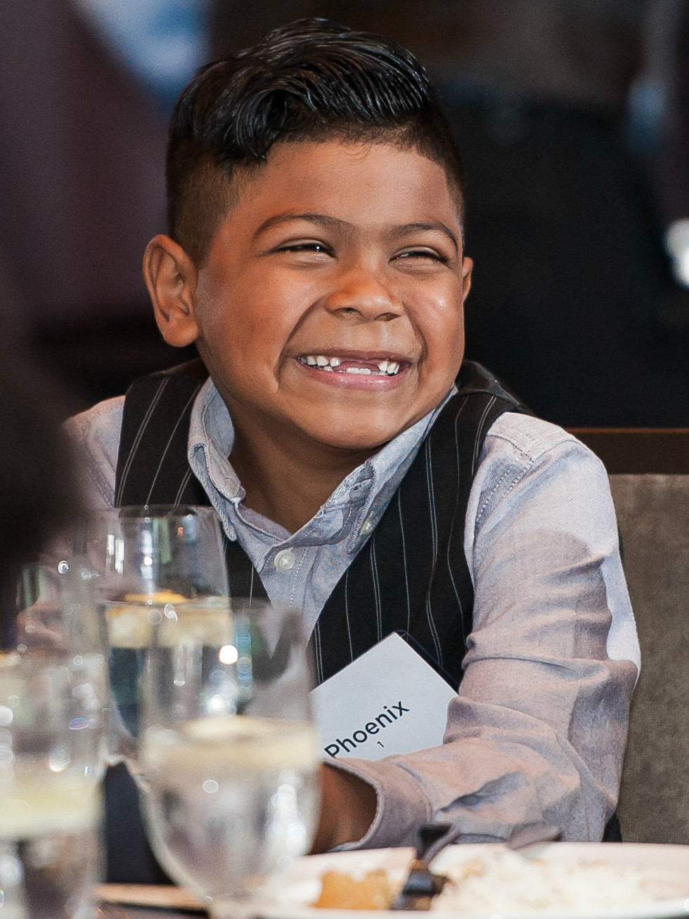 Andry Roddick Foundation Opportunity Matters Luncheon Hotel Van Zandt April 2016 kid child Phoenix