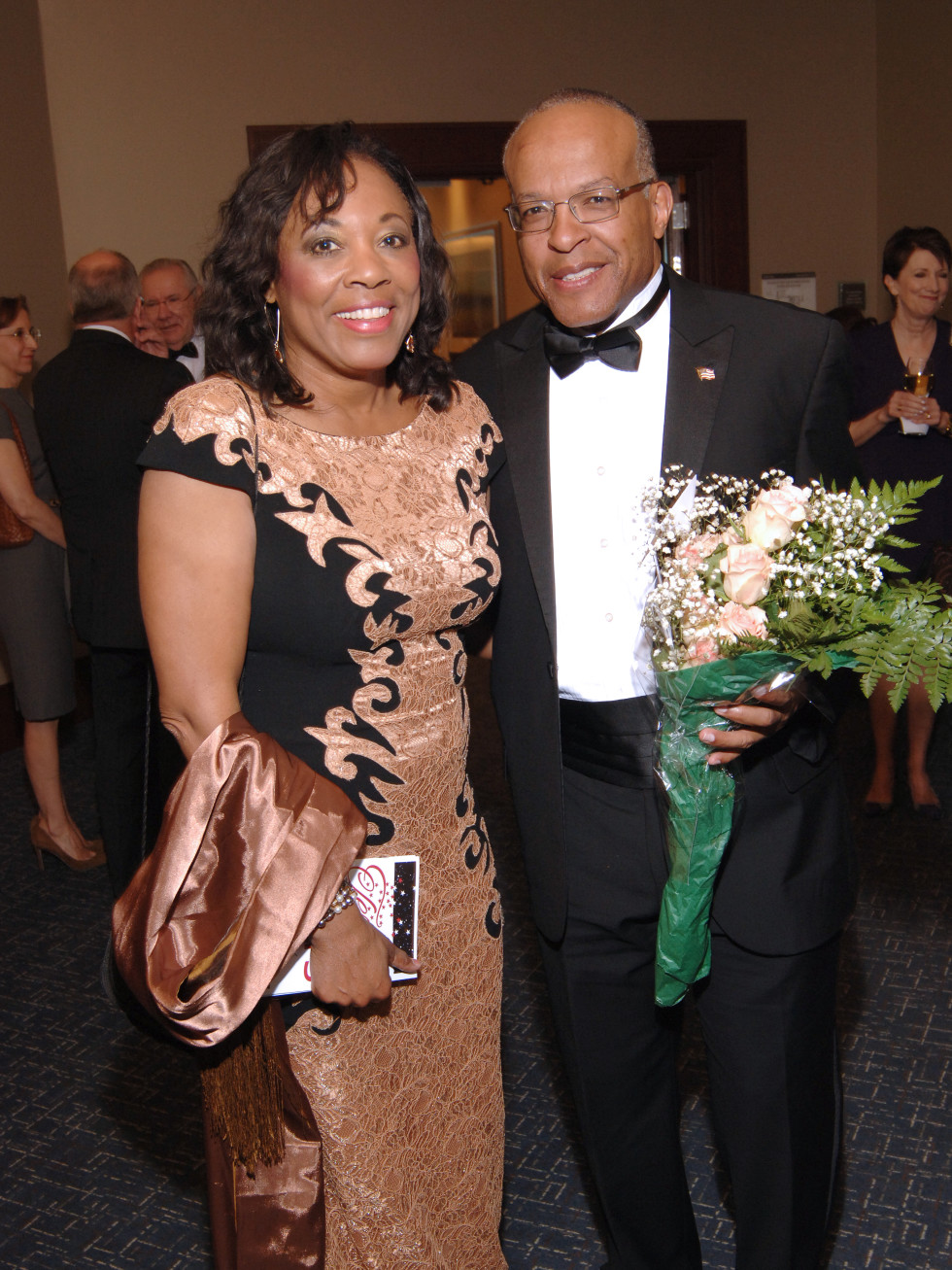 UH Law gala, April 2016, Judge Vanessa Gilmore, Kevin Moore