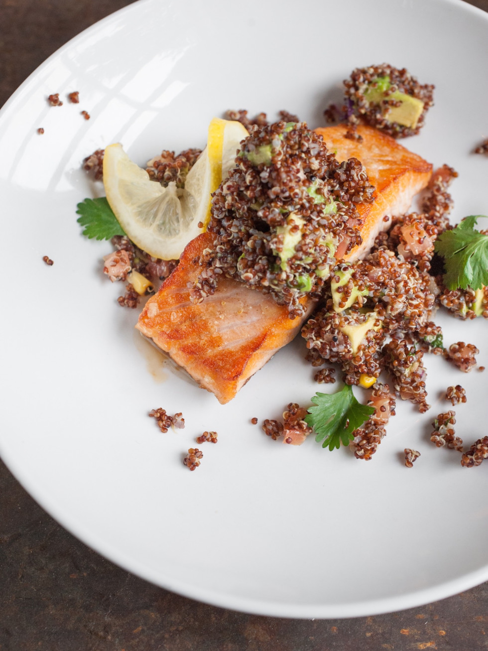 Dish Society Citrus glazed salmon
