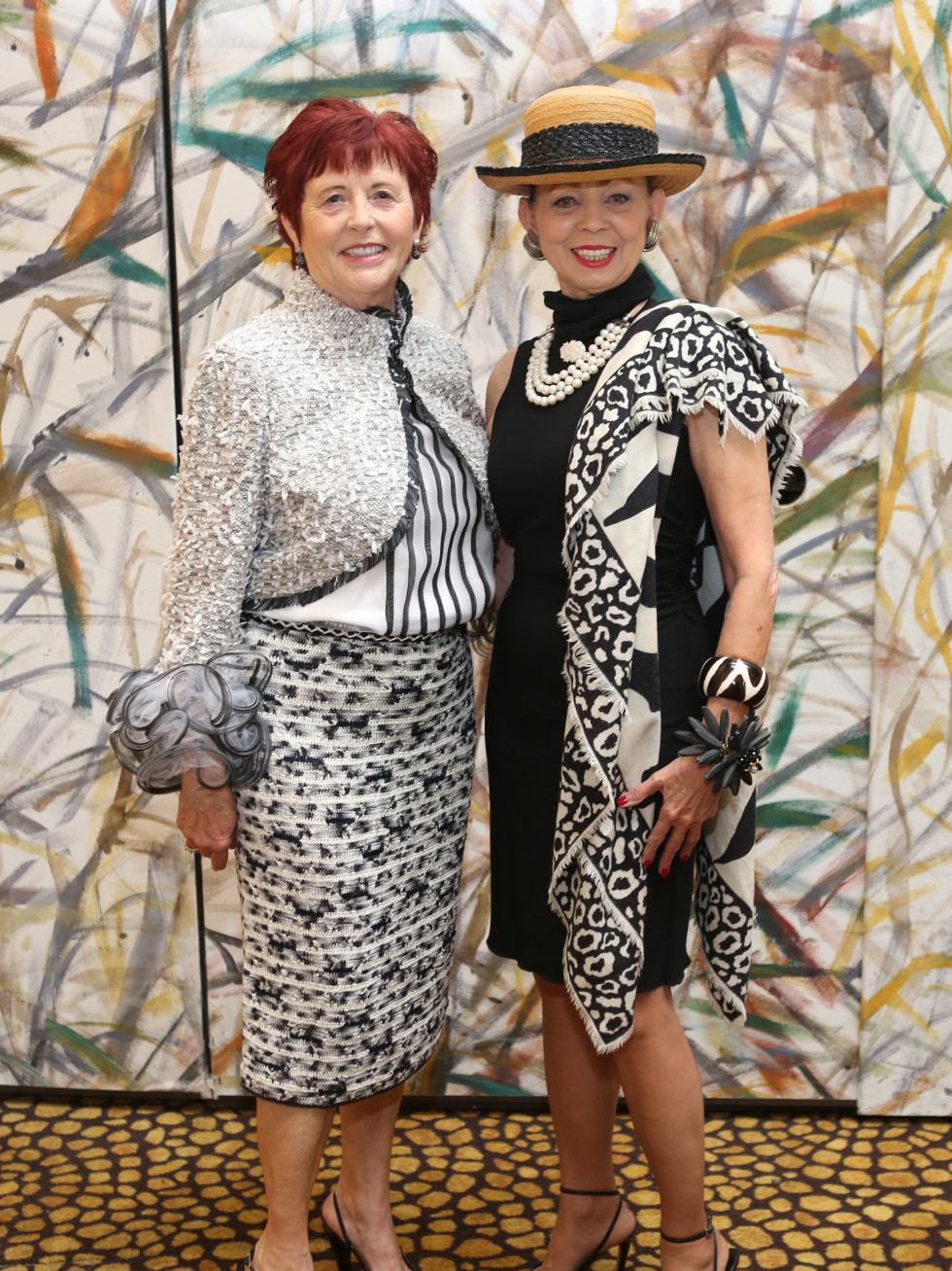 HGO Ball luncheon, March 2016, Irene Bourke, Danielle Ellis