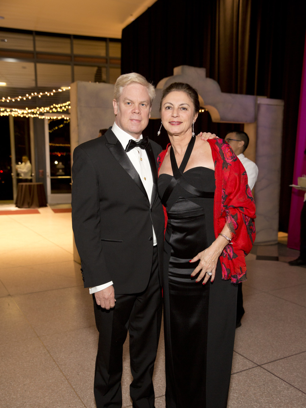 Museum of Natural Science Gala, March 2016, Alfred Glassell III, Marli Andrade
