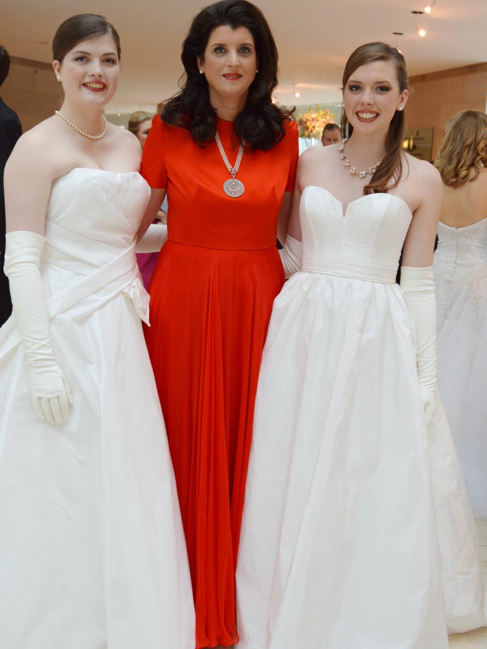 Alexandra, Claire and Carolina Henry