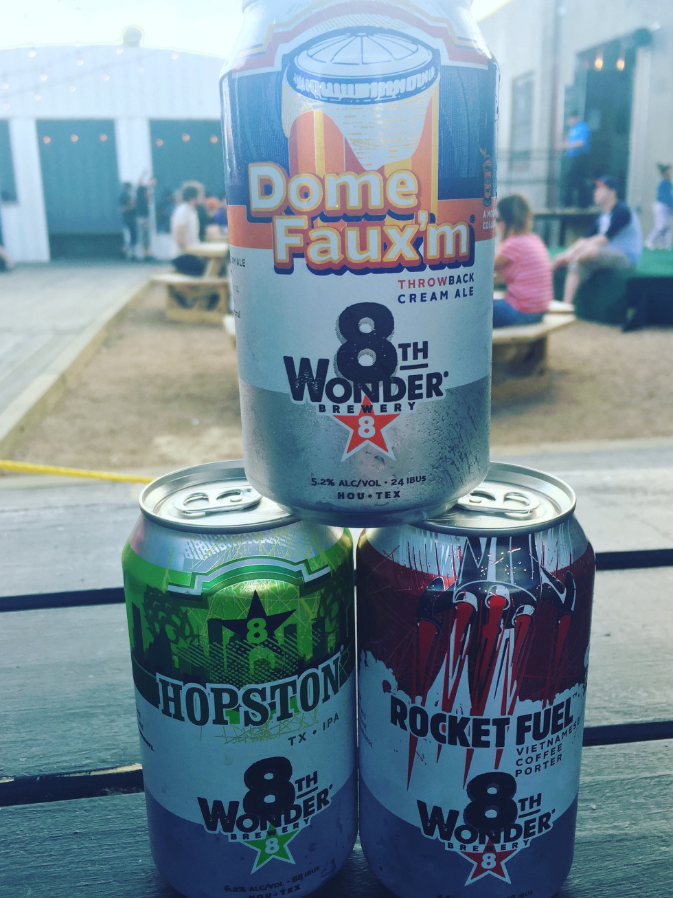 8th Wonder Brewery Cans
