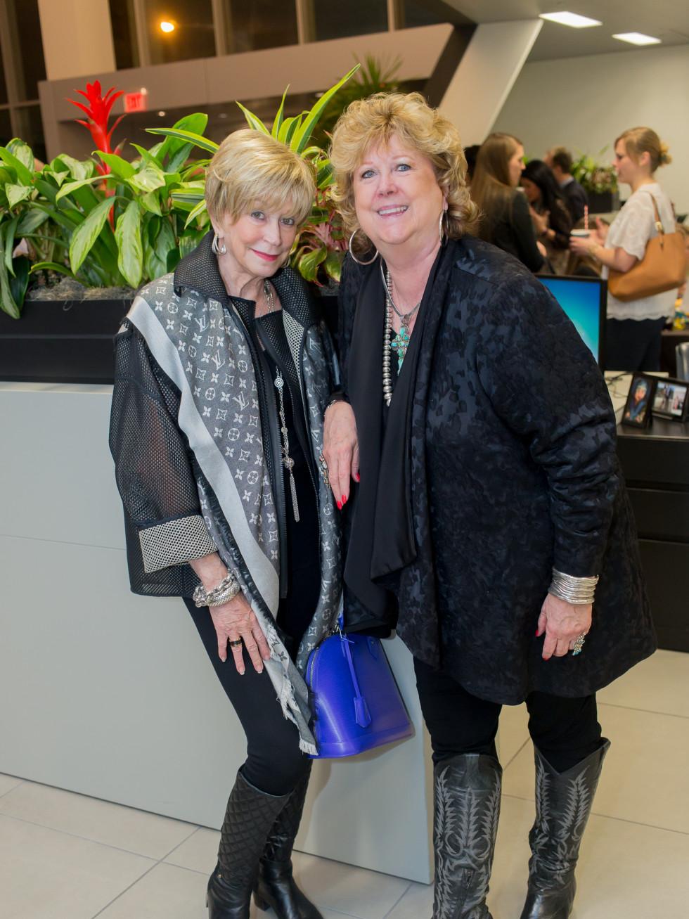 Cattle Baron's Fashion Show, March 2016, Bobbi Kirlin, Betty DuBose