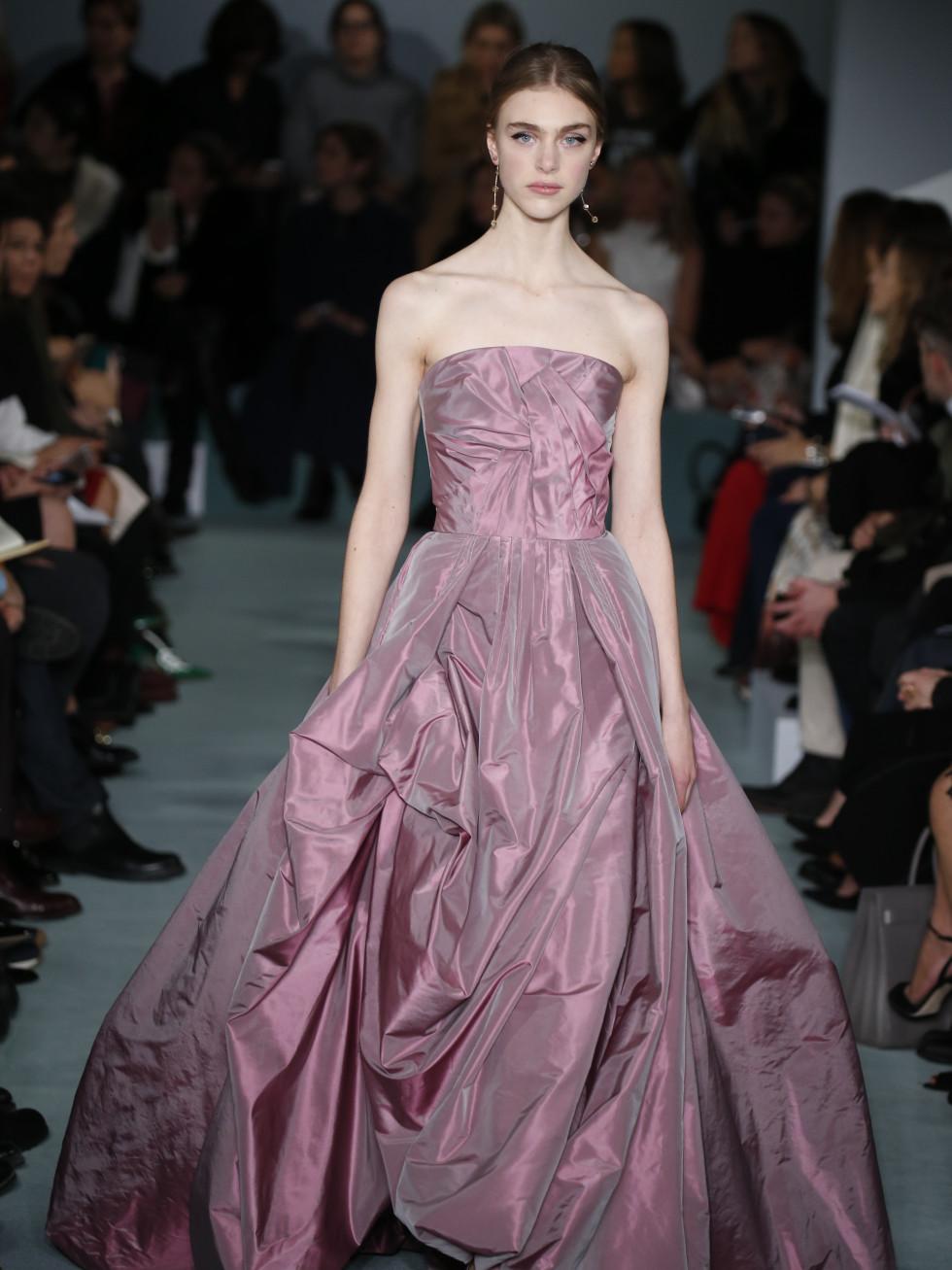Oscar de la Renta fall 2016 gown