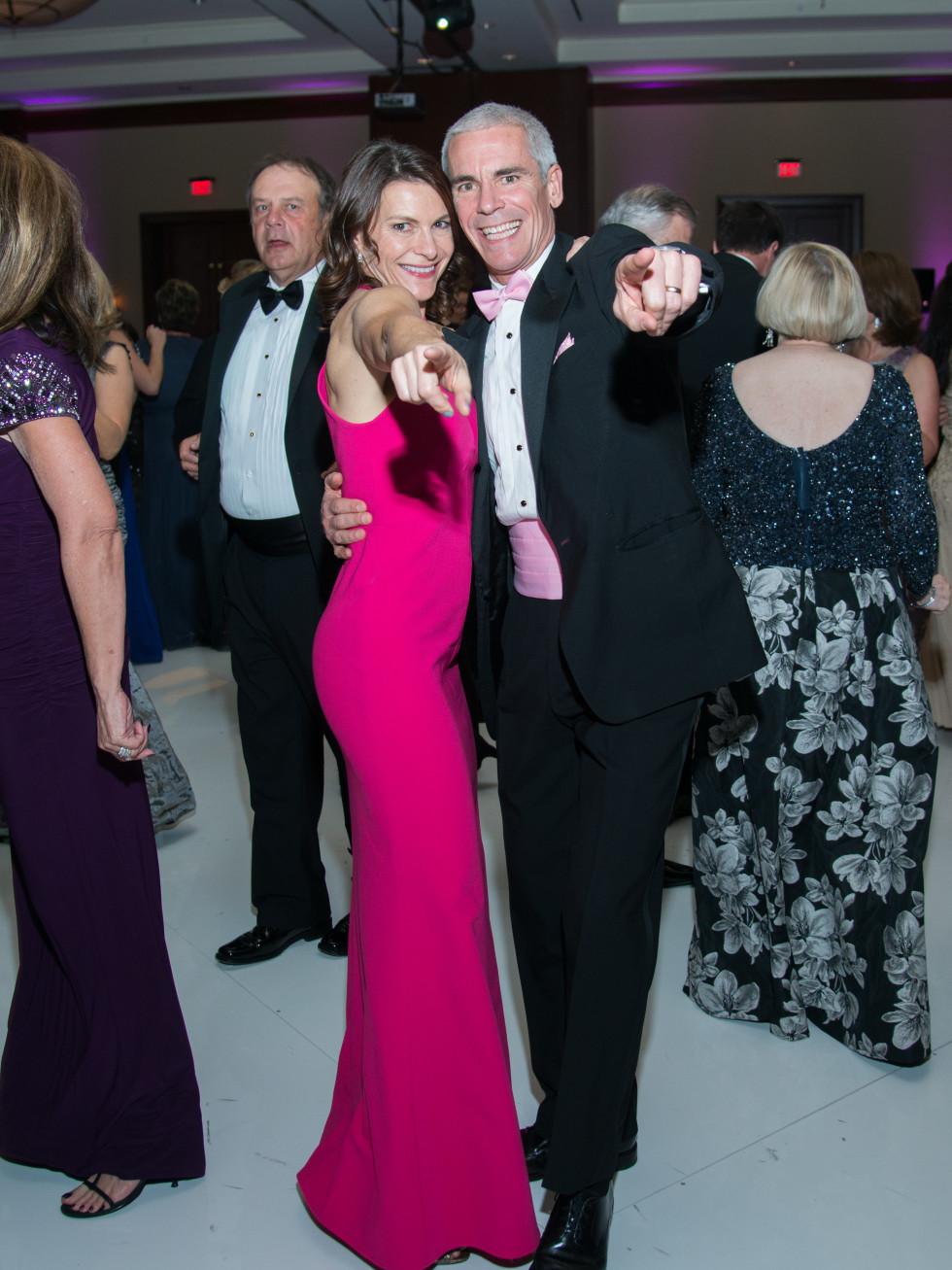 Komen Foundation Gala, Feb. 2016, Trish Hayes, Andrew Hayes