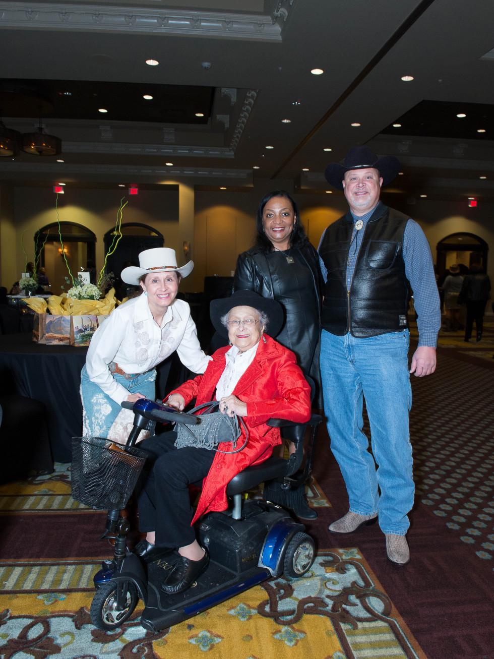 Boots and Bling Barbara L. Seymour, Barbara Y. Seymour, Anya and Leroy Seymour