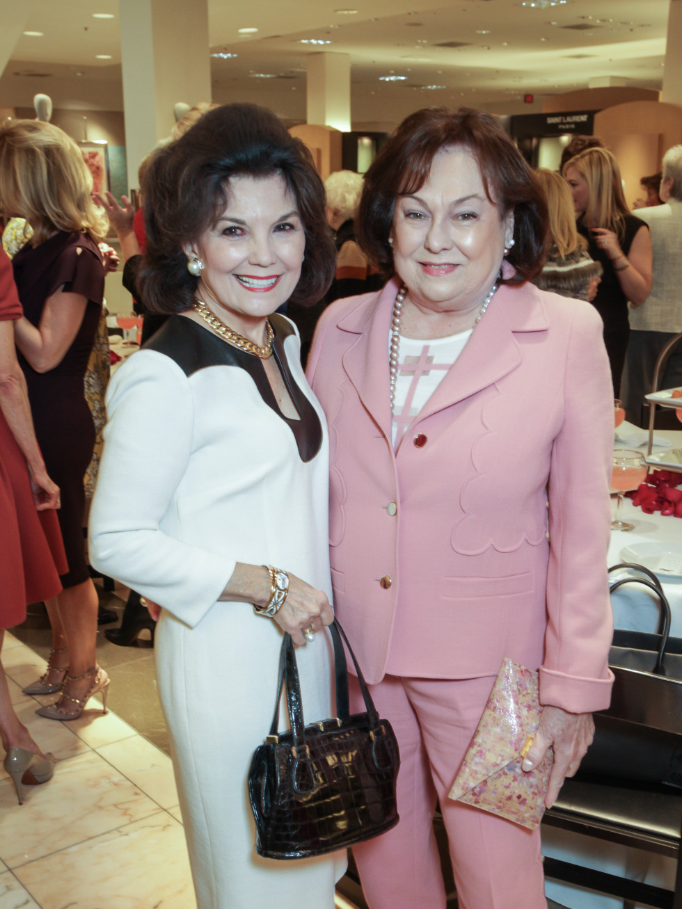 March of Dimes Tea, Feb. 2016 Linda McReynolds, Rose Cullen