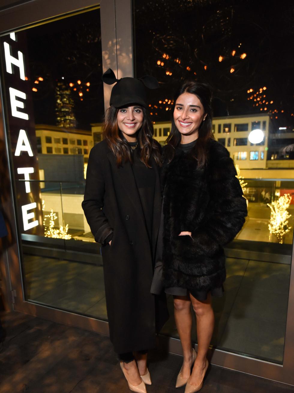 Heart of Fashion at the movies, Feb. 2016,Sarah Jawda, Saba Jawda